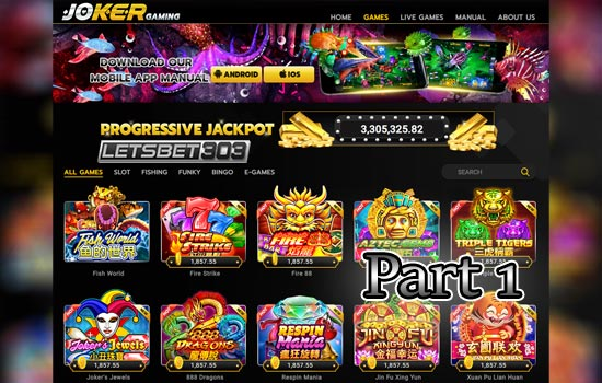 Slot Terbaru Joker123 Minimal Bet Termurah Part 1