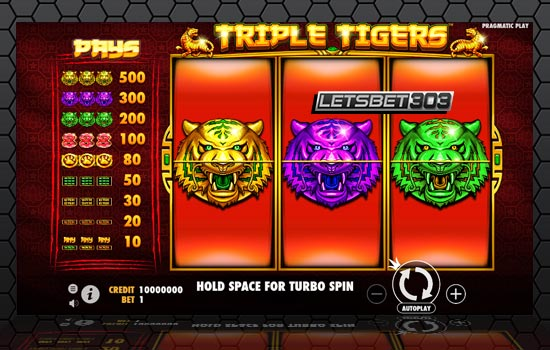 Slot Triple Tigers Joker123 Terbaru By Pragmatic Play